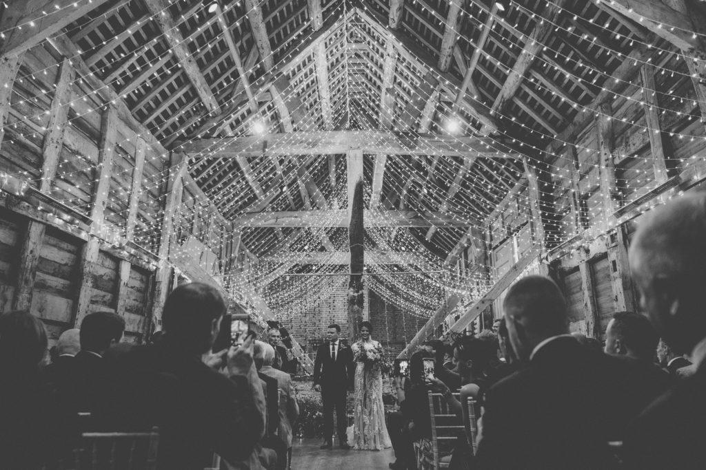 Shropshire wedding photographer at Pimhill Barn