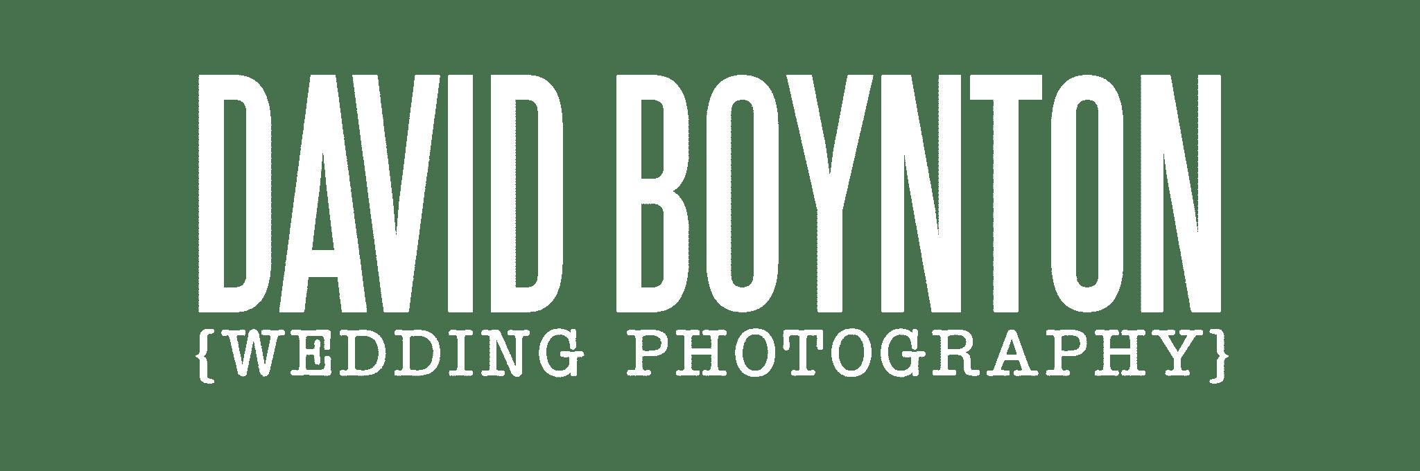 David Boynton Wedding Photography + Film
